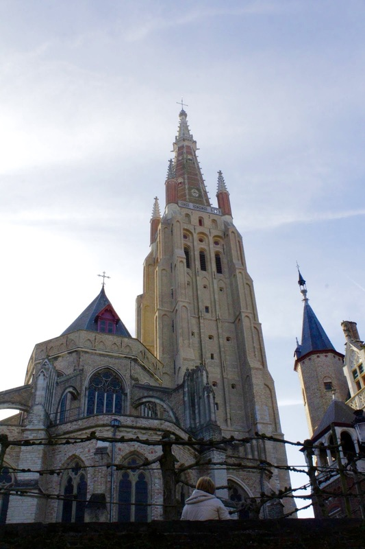 Brugge, Bruges, Belgica, Belgique, Belgium, Europa, Medieval, cidade medieval, medieval city, Onze-Lieve-Vrouwekerk, Igreja de Nossa Senhora, igreja, church