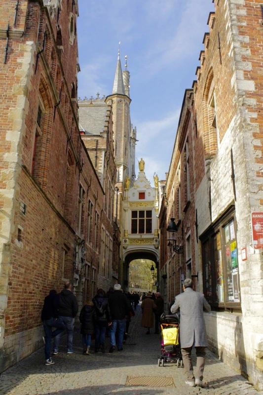Rua do Comércio Dicas de Viagem para Bruges