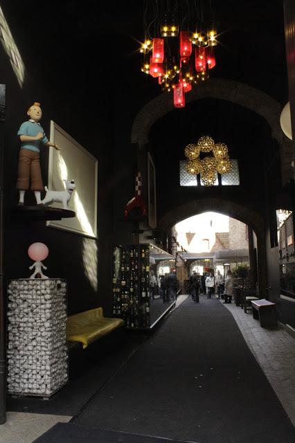 Tintin Dicas de Viagem para Bruges