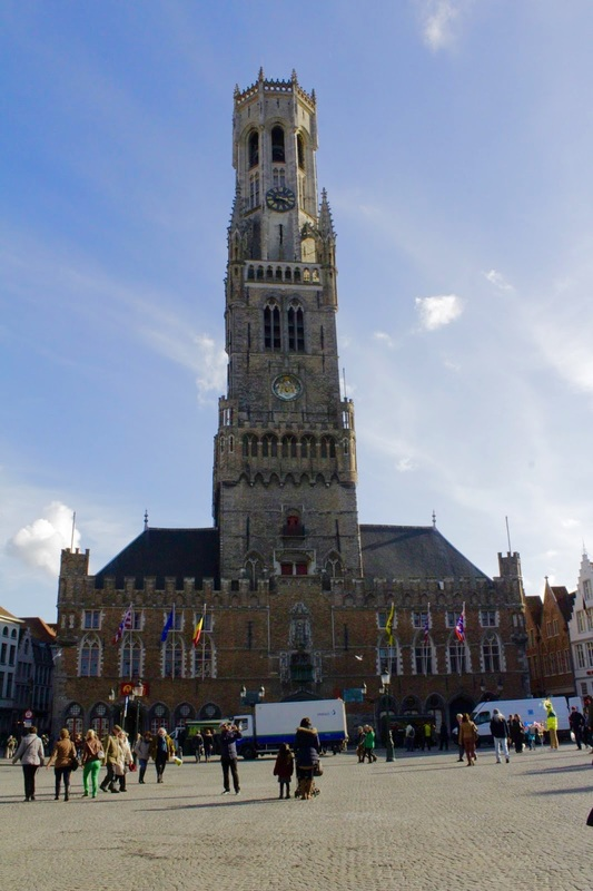 Brugge, Bruges, Belgica, Belgique, Belgium, Europa, Medieval, cidade medieval, medieval city, Grote Market, Belfry