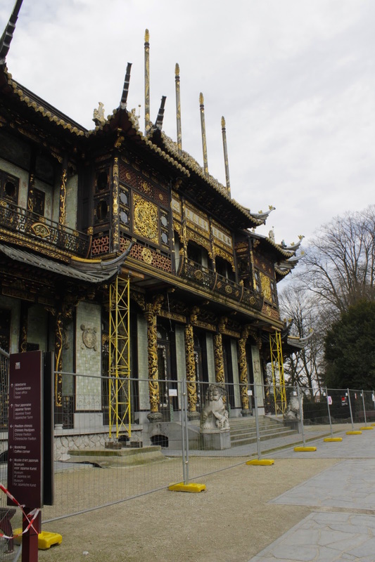 Belgica, Belgium, Belgie, Bruxelas, Brussels, Brussel, Europa, Região de Laeken, Musées d'Extrême-Orient