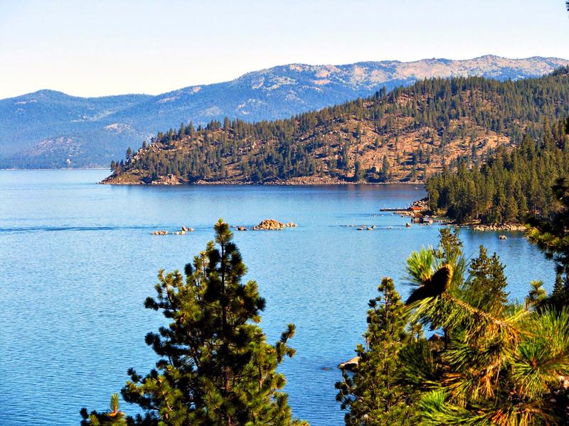 Cave Rock East, Lake Tahoe - Lago Tahoe, California, Estados Unidos