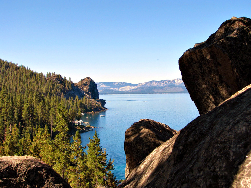 Cave Rock East, Lake Tahoe - Lago Tahoe, California, Estados Unidos