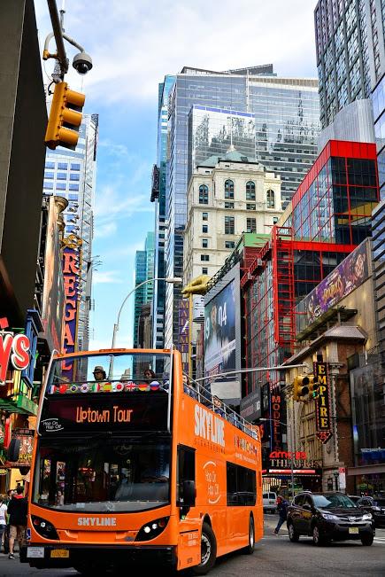 O 'double decker bus' do city tour