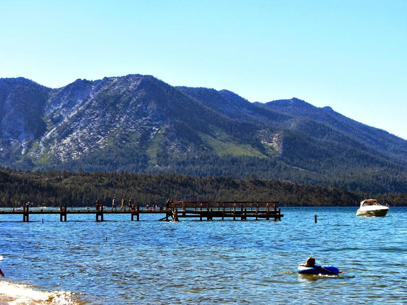 Emerald Bay, Tahoe Lake, California - Lago Tahoe, Estados Unidos