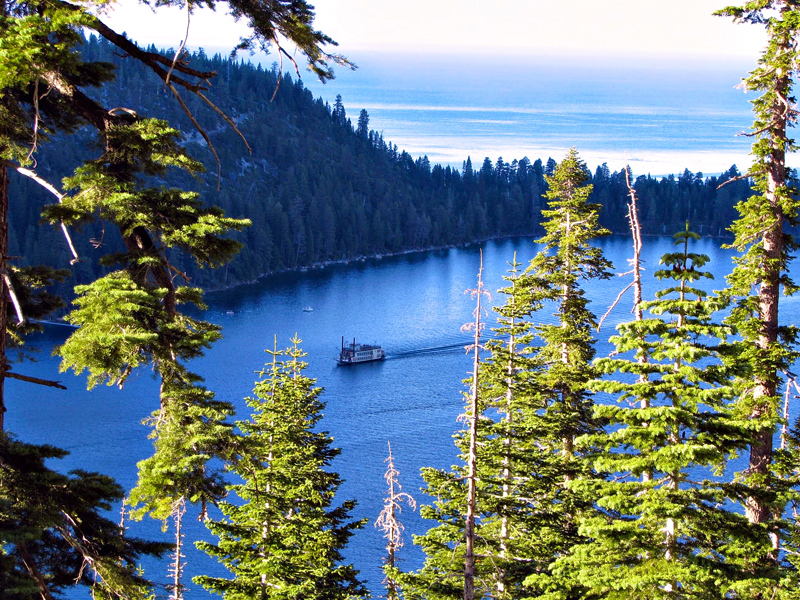 Emerald Bay, Tahoe Lake, California - Lago Tahoe, Estados Unidos