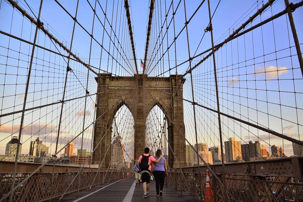 Brooklyn Bridge, Brooklyn, New York, NYC, USA, EUA