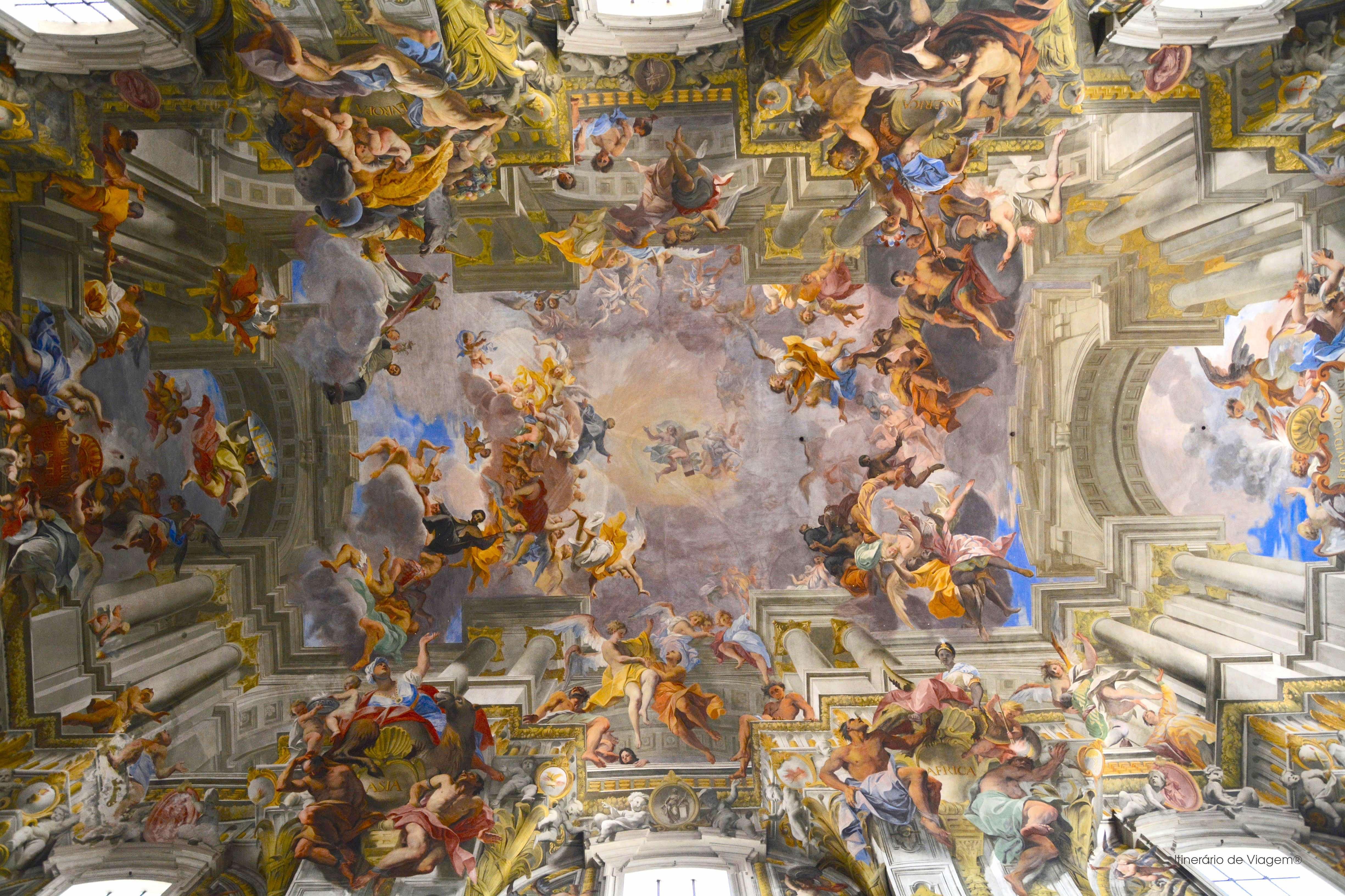 Roma, Italia, Italy, Chiesa di Sant'Ignazio di Loyola in Campo Marzio