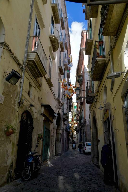 Salerno, Italia, Italy, Centro Storico, Centro Histórico