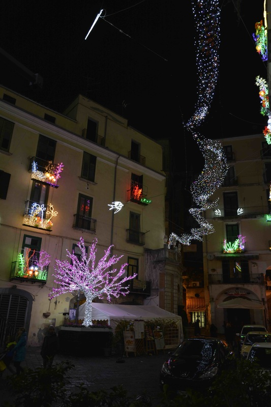 Salerno, Italia, Italy, Centro Storico, Centro Histórico, litoral, coast, Natal, Santa, Natale