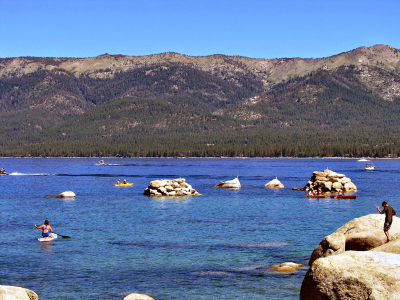 Sand Harbour, Tahoe Lake, California - Lago Tahoe, Estados Unidos