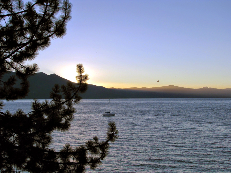 South Lake, Tahoe Lake, California - Lago Tahoe, Estados Unidos