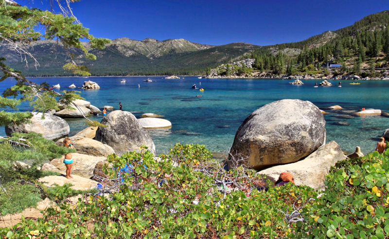 Lago Tajhoe - Tahoe Lake, California, Estados Unidos