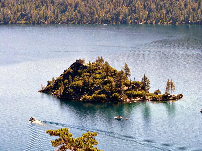 Lago Tajhoe - Tahoe Lake, California, Estados Unidos
