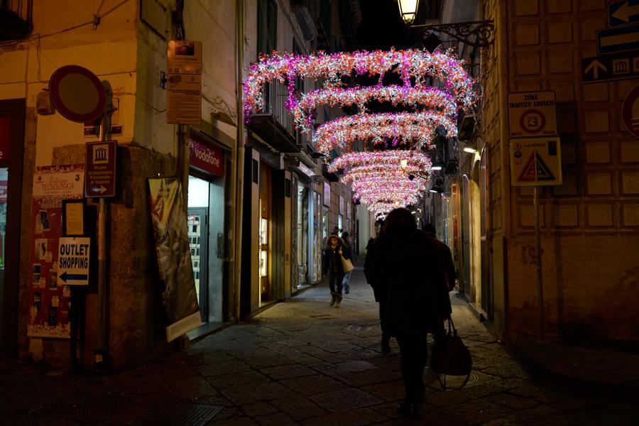 Luci d'Artista Salerno, Italia, luzes de natal