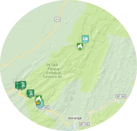 mapa petar