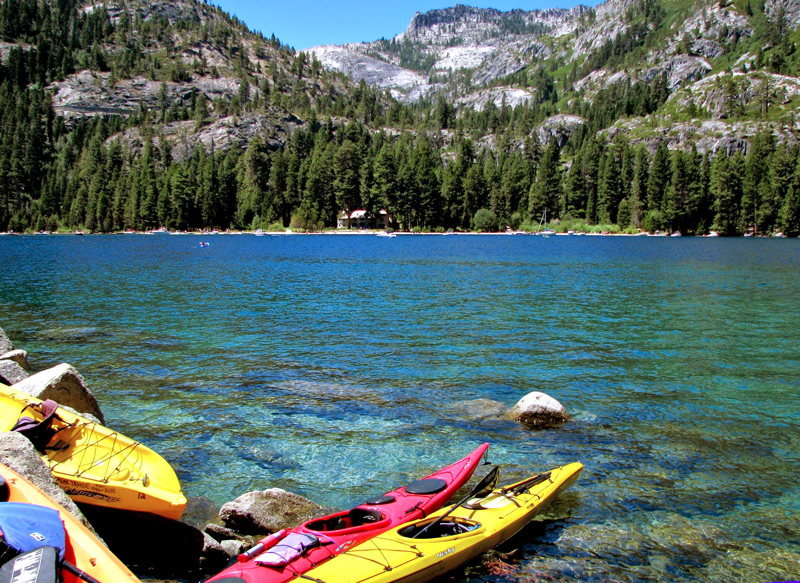 North Lake, Tahoe Lake, California - Lago Tahoe, Estados Unidos