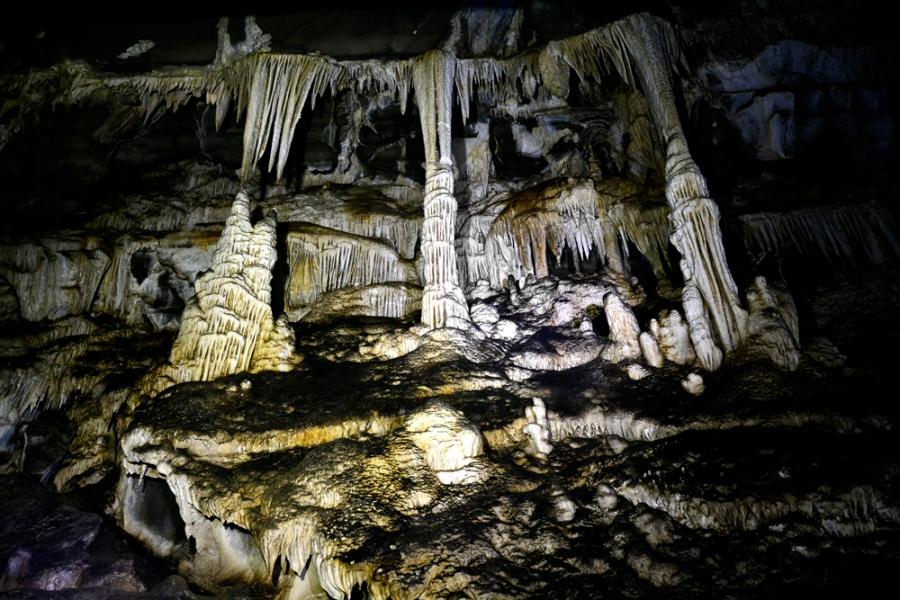 PETAR, Parque Estadual Turístico do Alto Ribeira, São Paulo, Brasil, Núcleo Santana, Caverna de Santana