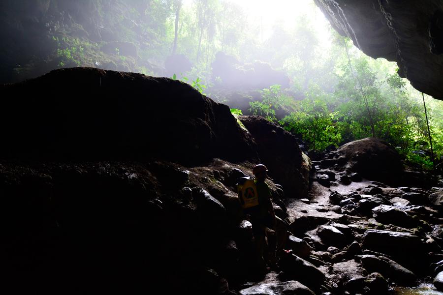 PETAR, Parque Estadual Turístico do Alto Ribeira, São Paulo, Brasil, Núcleo Santana, Caverna do Couto