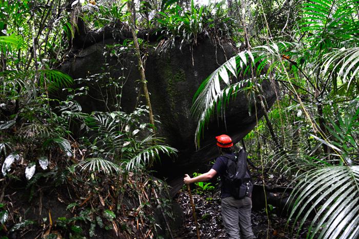 PETAR, Parque Estadual Turístico do Alto Ribeira, São Paulo, Brasil, Núcleo Caboclo, Trilha Temimina, Apiaí