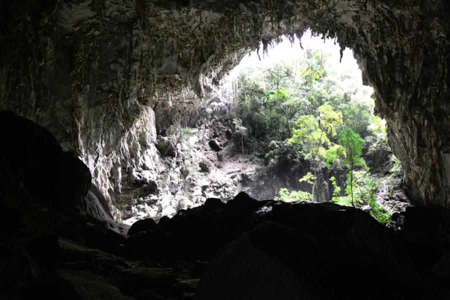 PETAR, Parque Estadual Turístico do Alto Ribeira, São Paulo, Brasil, Núcleo Caboclo, Caverna Temimina, Apiaí