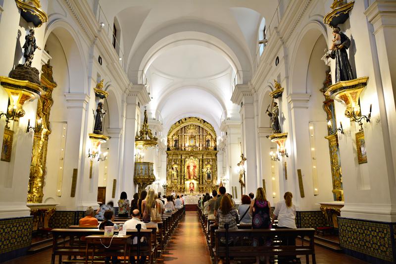 BUENOS AIRES: recoleta, palermo e villa crespo, Argentina - Basilica Nuestra Senora del Pilar, Recoleta, Buenos Aires, Argentina