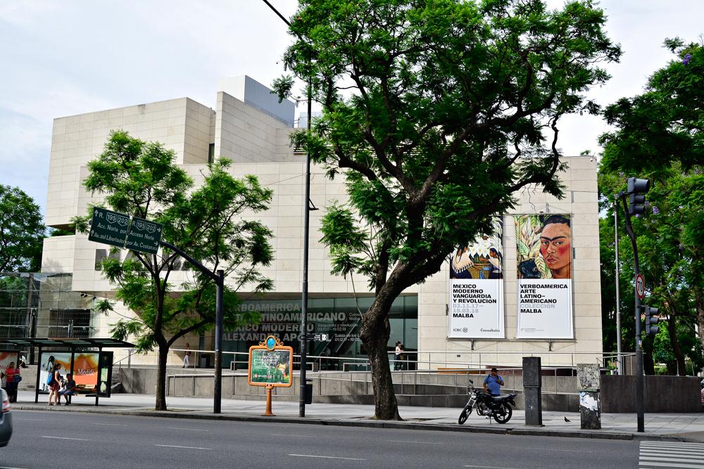 BUENOS AIRES: recoleta, palermo e villa crespo, Argentina - MALBA, Museo de Arte Latinoamericano de Buenos Aires, Buenos Aires, Argentina