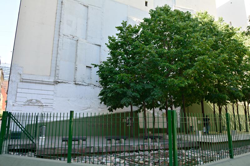 BUENOS AIRES: recoleta, palermo e villa crespo, Argentina - Plaza Embajada de Israel