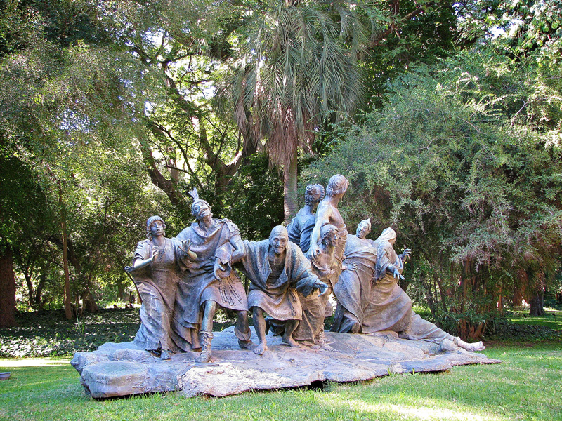 BUENOS AIRES: recoleta, palermo e villa crespo Jardin Botanico