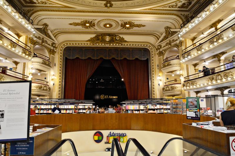 Recoleta, El Ateneo Grand Splendid, Buenos Aires, Argentina