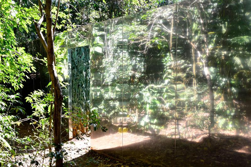 Galeria Cristina Iglesias no Instituto Inhotim - Rota Laranja