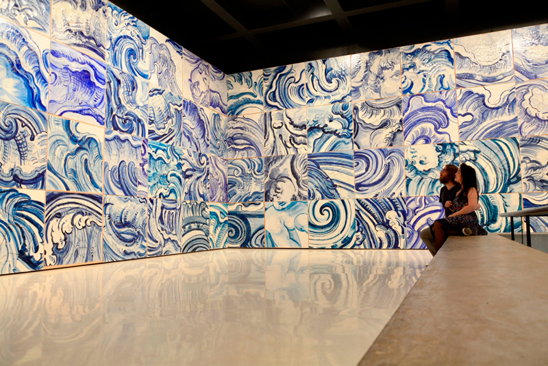 Galeria Adriana Varejão no Instituto Inhotim - Rota Laranja
