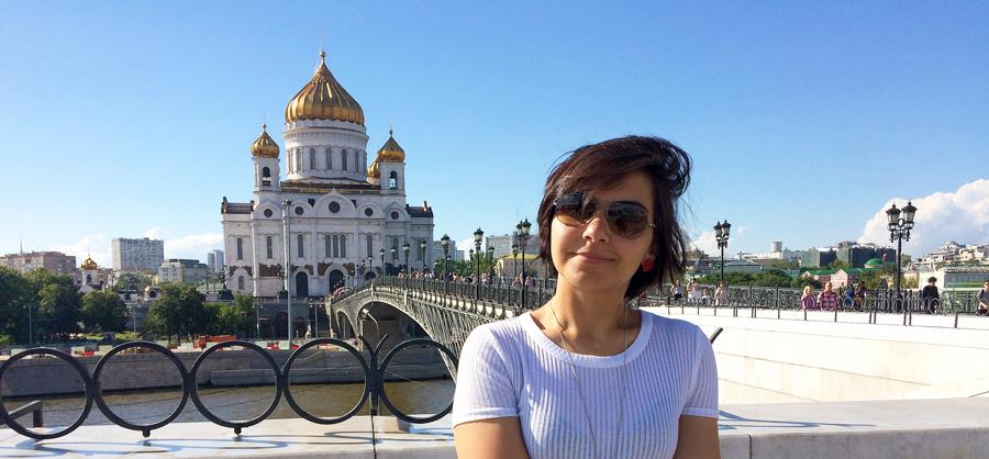 Morar em Moscou, Moscou, Rússia, Catedral de Cristo Salvador