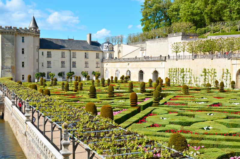 Jardins Pelo Mundo: Castelo de Villandry, Villandry, França, Jardim