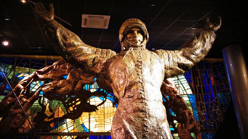 Viver em Moscou, Museu do Aeronauta, Museu do Cosmonauta, Moscou, Rússia