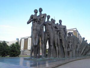 Morar em Moscou, Moscou, Rússia, Parque Pobeda