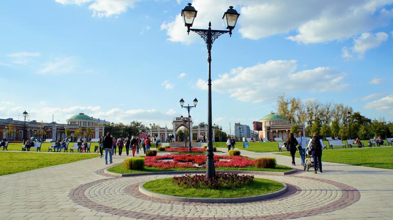 Morar em Moscou, Moscou, Rússia, Parque Tsaritsyno, Parque Tsaritsina