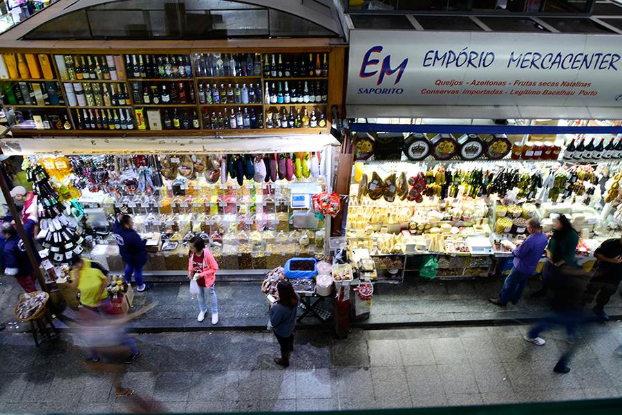 Mercado Municipal, Mercadão, Mercado da Cantareira, São Paulo, Brasil, América do Sul