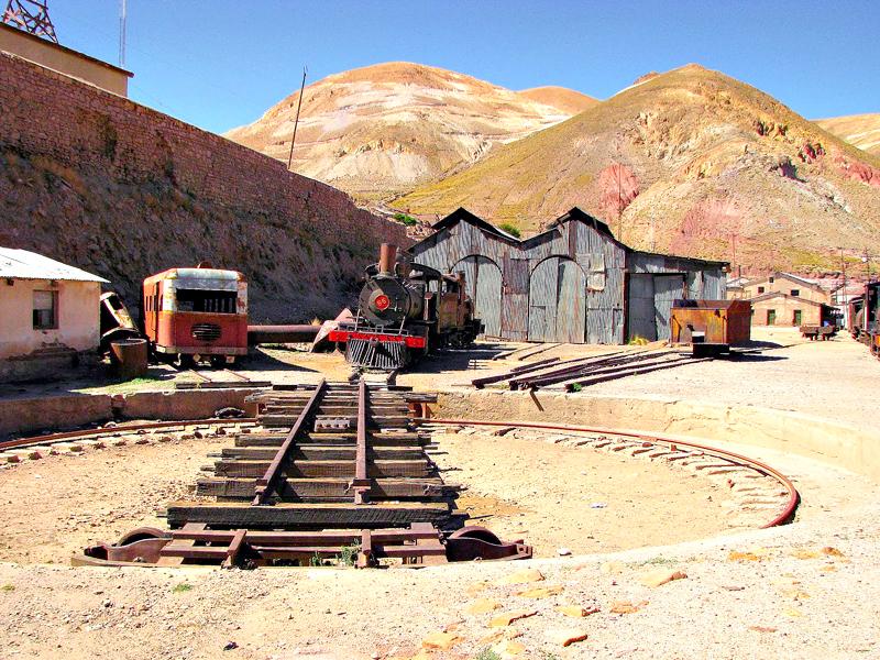 Cemitério dos trens, Uyuni, Bolivia