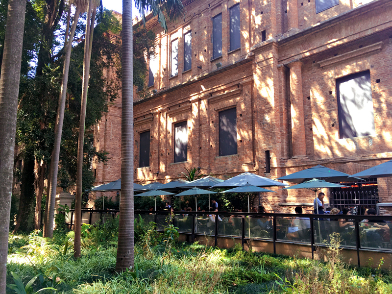 Pinacoteca do Estado de São Paulo, cafeteria