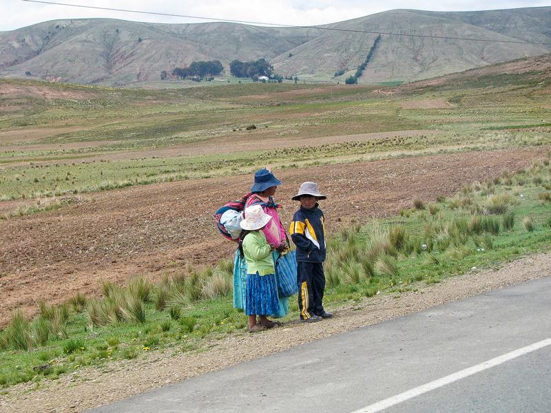 Bolivia, chola, La Paz, Tiahuamaco