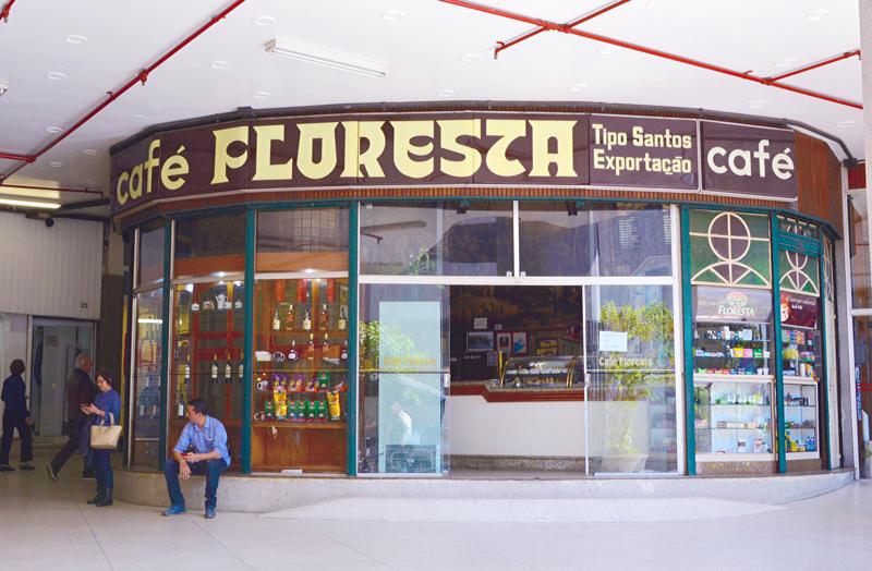 Café Floresta no Edifício Copan