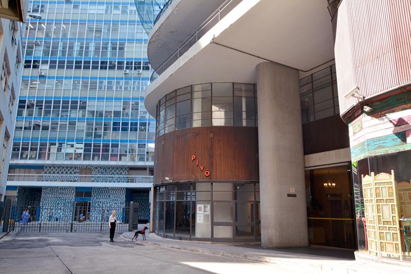 Espaço Pivô no Edifício Copan