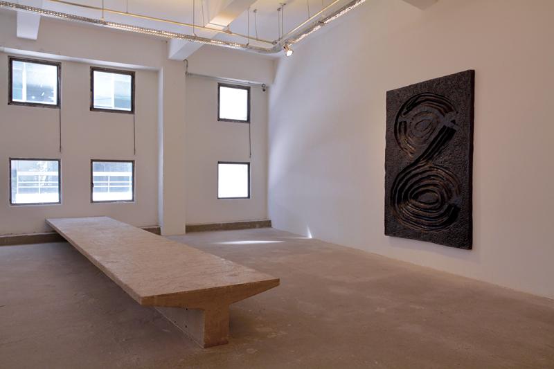 exposição no Espaço Pivô no Edifício Copan