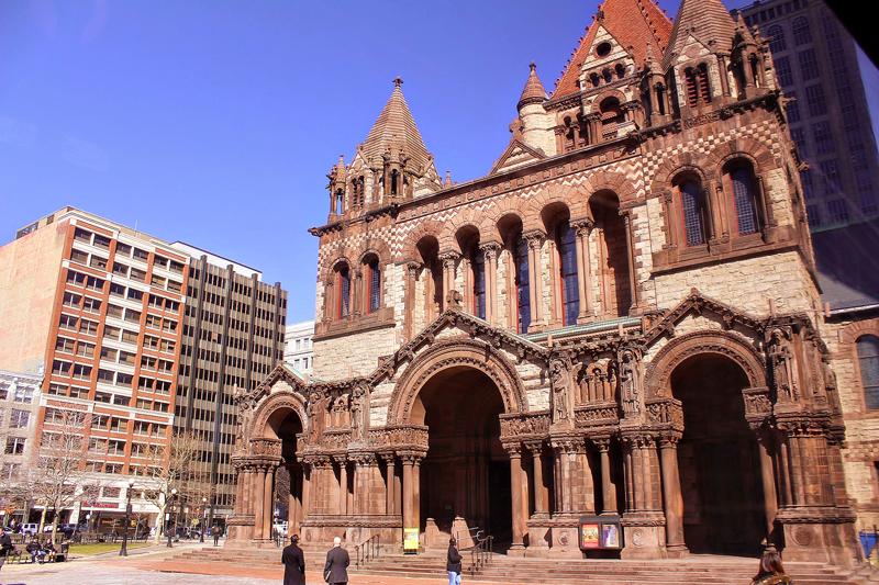 Igreja, church, Trinity Church, Trinity Church of Boston, Boston, Massachusetts, Estados Unidos, turismo, América do Norte, dicas de viagem