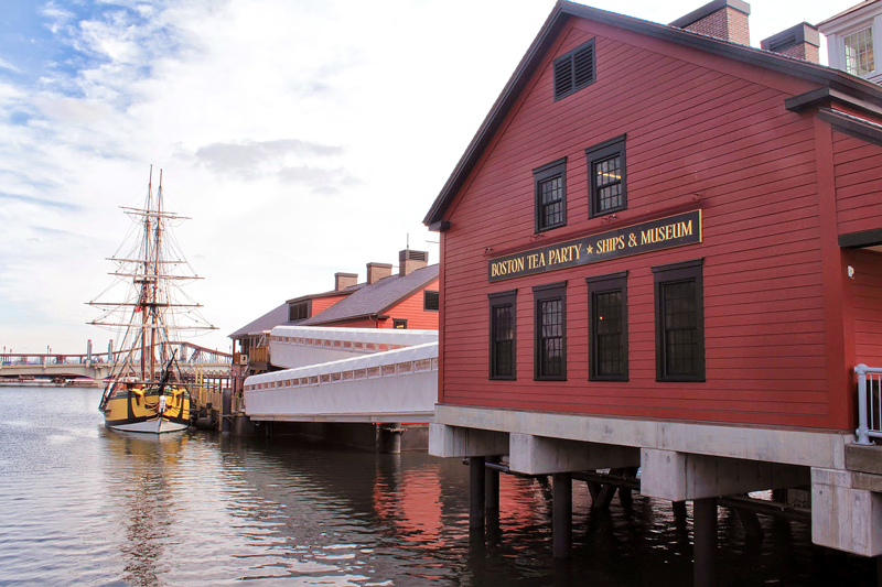 Boston Tea Party Ships & Museum, Boston, Massachusetts, Estados Unidos, turismo, América do Norte, dicas de viagem