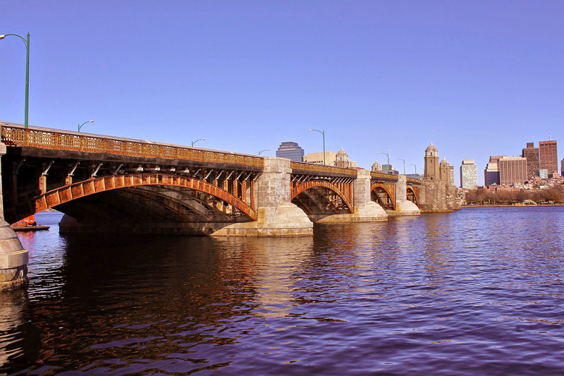 Longfellow bridge, Boston, Massachusetts, Estados Unidos, turismo, América do Norte, dicas de viagem