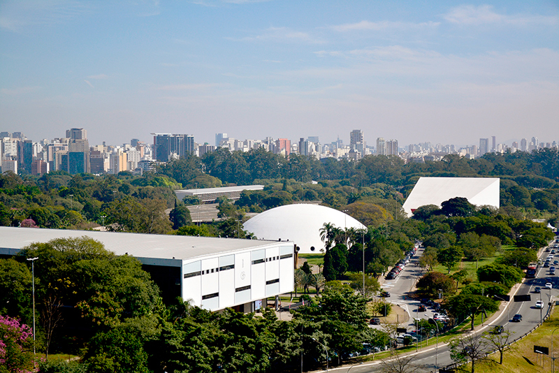 vista do mac usp - museu de arte contemporânea