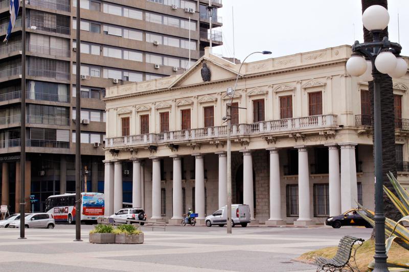 Palacio Estevez onde fica o Museo de la Casa de Gobierno de Montevideo