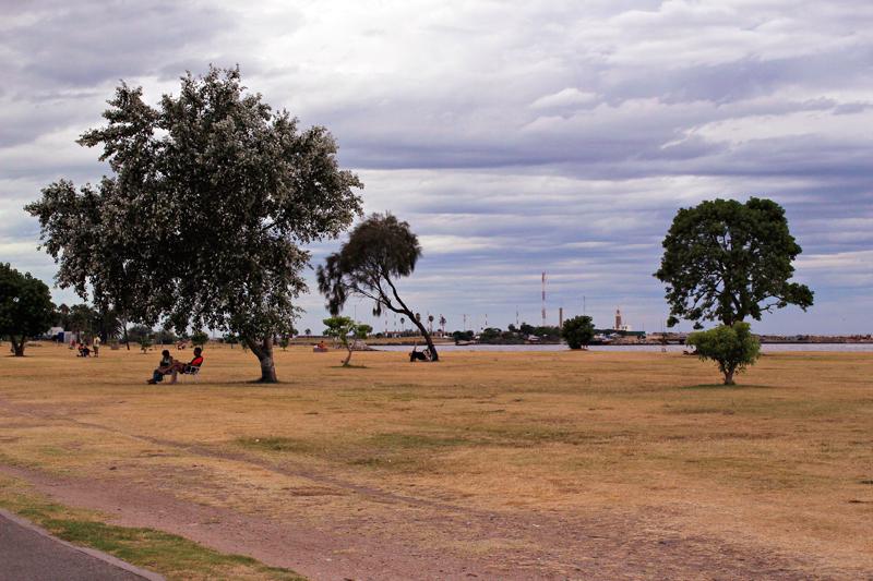 Rambla em Montevideo